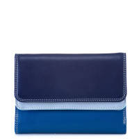Mywalit Double Flap Purse Portemonnee Denim