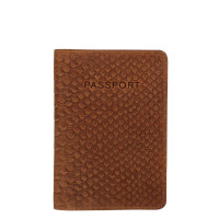 Burkely Hunt Hailey Passport Cover Cognac 250429