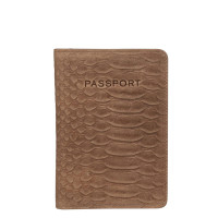 Burkely Hunt Hailey Passport Cover Taupe 250429
