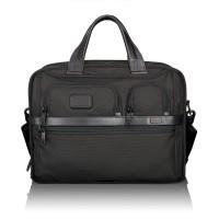 Tumi Alpha 2 Business T-Pass Expandable Laptop Brief Black