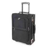 "Alumaxx Handbagage Pilotentrolley 15.6"" 2708 Zwart"