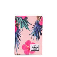 Herschel Raynor Passport Holder RFID Peach Pineapple