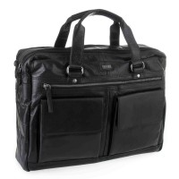 Spikes & Sparrow Bronco Business Bag Black 294S151