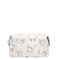 Mi-Pac Wash Bag Toilettas Cats Light Grey