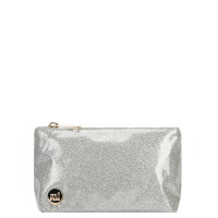 Mi-Pac Make Up Tas Glitter Silver