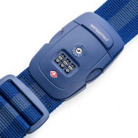 Samsonite Travel Accessoires TSA Cijferslot Kofferriem Indigo Blue