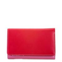 Mywalit Medium Tri-Fold Wallet Portemonnee Ruby