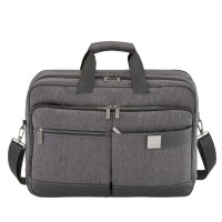 "Titan Power Pack 15.6"" Laptop Schoudertas Expandable Anthracite"