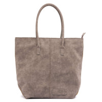 Zebra Trends Natural Bag Kartel Rits Nature Dark Grey 388004