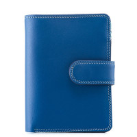 Mywalit Medium Snap Wallet Portemonnee Denim