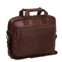 "Chesterfield Calvi Laptoptas 15.6"" Brown"