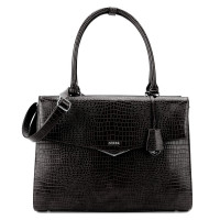 "Socha Businessbag Silver Tip 15.6"" Black"
