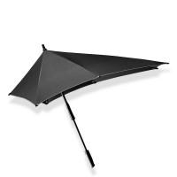 Senz XXL Stick Paraplu Black Reflective