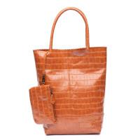 Zebra Trends Natural Bag Kartel Croco Cognac 416000