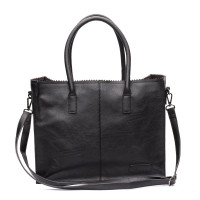 Zebra Trends Natural Bag Kartel Lisa Kunstleer Black