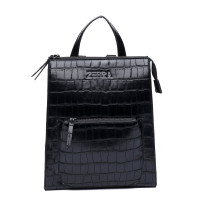 Zebra Trends Natural Backpack Siena Black Croco 416005