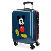 Disney Trolley 55 Cm 4 Wheels Mickey Blue