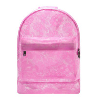Mi-Pac Rugzak Transparent Lace Pink