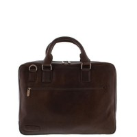 "Plevier Business/Laptoptas 1-Vaks 17.3"" Dark Brown 485"