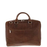 "Plevier Business/Laptoptas 1-Vaks 17.3"" Cognac 485"