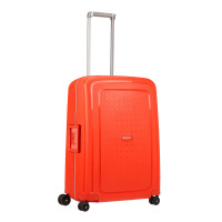 Samsonite S'Cure Spinner 69 Fluo Red Capri