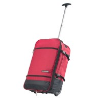 CarryOn Daily Trolley Backpack Expandable Red