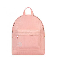 Mi-Pac Gold Super Mini Rugzak Matt Crock Pastel Pink