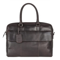 Burkely On The Move Laptopbag 15'' Flap Brown
