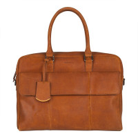Burkely On The Move Laptopbag 15'' Flap Cognac