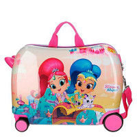 Disney Rolling Suitcase 4 Wheels Shimmer & Shine