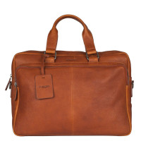 "Burkely Antique Avery Workbag 15.6"" Cognac 521856"