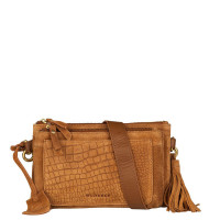 Burkely Festival Hip Bag Zip Cognac 537925