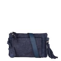 Burkely Festival Hip Bag Zip Jeans Blue 537925