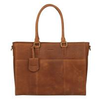 Burkely Hunt Hailey Workbag Schoudertas Cognac 538729