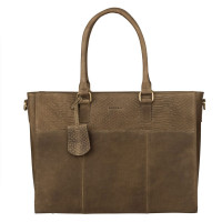 Burkely Hunt Hailey Workbag Schoudertas Olive Green 538729