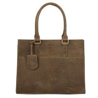 Burkely Hunt Hailey Handbag M Olive Green 53829