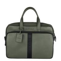 """Burkely Rebel Reese Laptopbag 15.6"""" Green"""