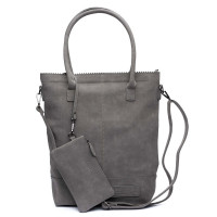Zebra Trends Natural Bag Kartel Suedine Dark Grey 552201