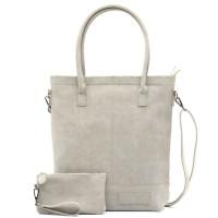Zebra Trends Natural Bag Kartel Rits Grey 552201