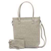 Zebra Trends Natural Bag Kartel Rits XL Grey 552205