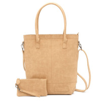 Zebra Trends Natural Bag Kartel Rits XL Light Brown 552205