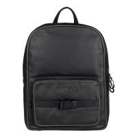 """Burkely Rebel Reese Laptop Backpack 15.6"""" Black"""