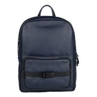 """Burkely Rebel Reese Laptop Backpack 15.6"""" Dark Blue"""