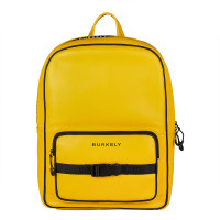 "Burkely Rebel Reese Laptop Backpack 15.6"" Yellow"