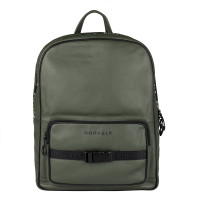 "Burkely Rebel Reese Laptop Backpack 15.6"" Green"