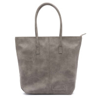 Zebra Trends Natural Bag Kartel Shopper Paradox Grey 557707