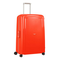 Samsonite S'Cure Spinner 81 Fluo Red Capri