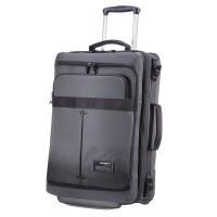 Samsonite Cityvibe Laptop Duffle Wheels Expandable 55 Ash Grey