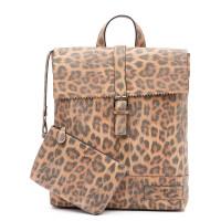 Zebra Trends Backpack Loiza Rugzak Leopard Camel