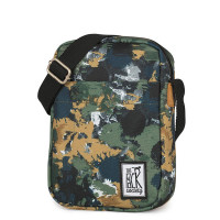The Pack Society The Small Shoulderbag Green Camo Allover